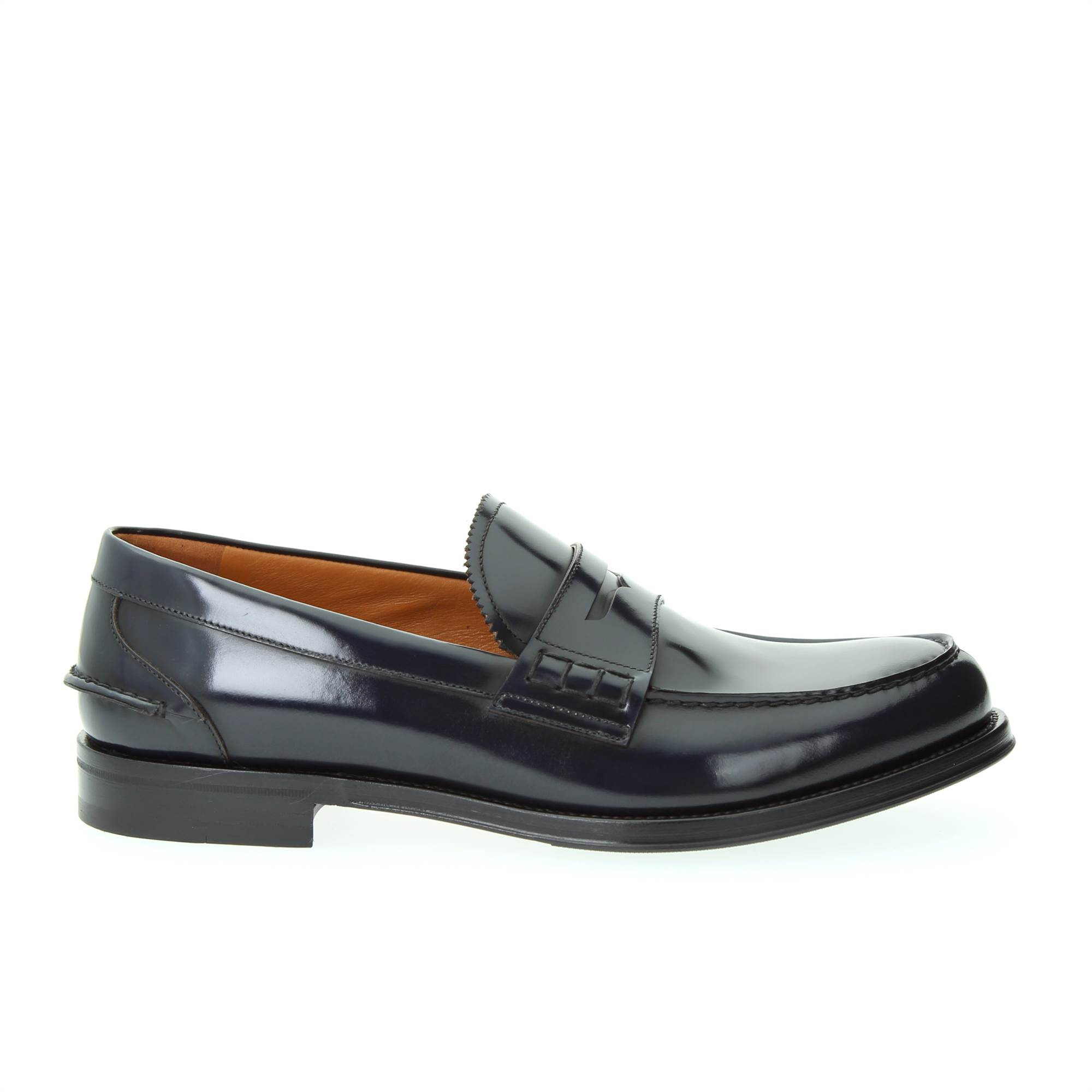 LANCIOTTI DE VERZI 243PS BLUE Shoes Man MOCCASIN