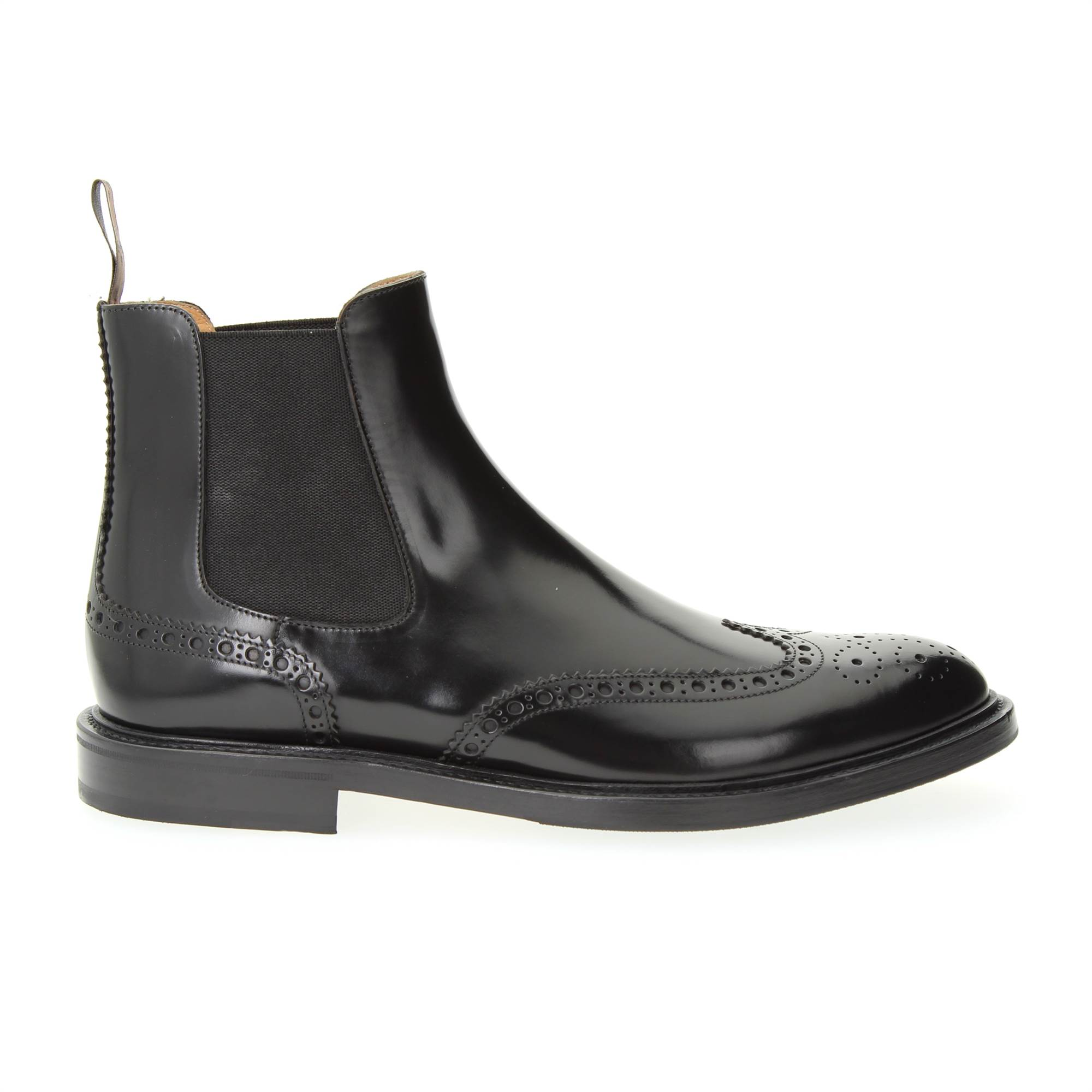 LANCIOTTI DE VERZI 254P3 NERO Shoes Man beatles