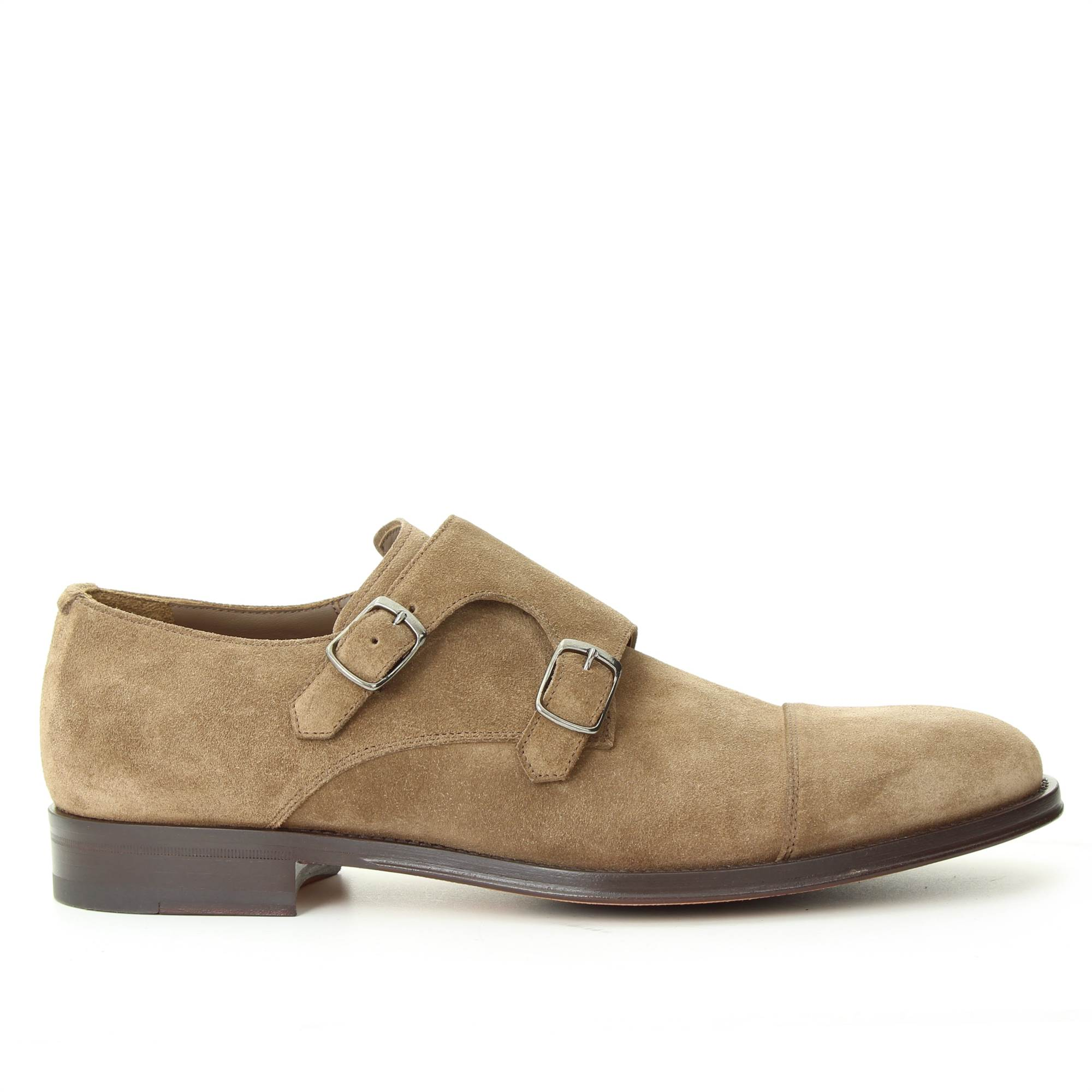 LANCIOTTI DE VERZI LE01006 SUGHERO Shoes Man DOUBLE BUCKLE